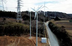 小塩津風力発電所